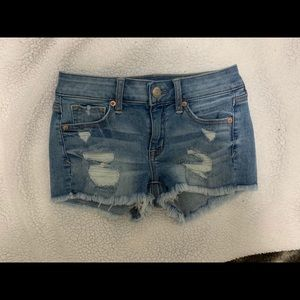American Eagle  distressed/ripped shorts